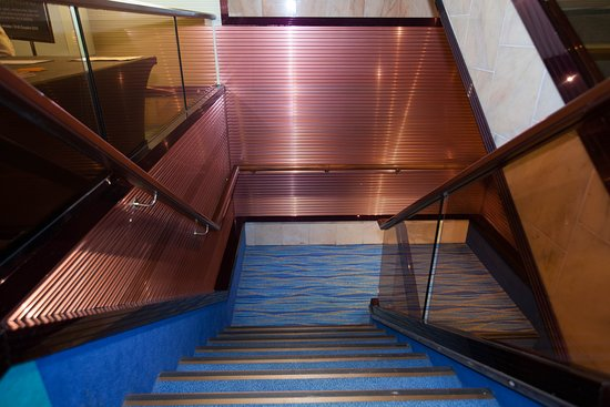 Stairs on Carnival Sunshine