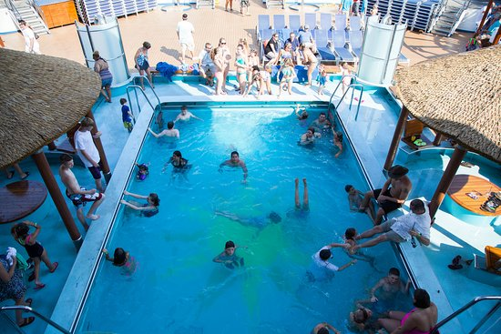 Beach Pool on Carnival Sunshine
