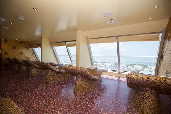 Relaxation Room on Carnival Sunshine
