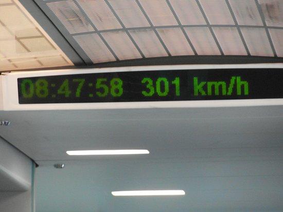 شنغهاي, الصين: Shangai: dal centro all'aeroporto con il MAG-LEV treno a levitazione magnetica, raggiunge i 430 km/h.