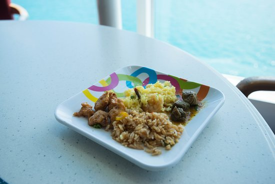 Oceanview Cafe on Celebrity Summit