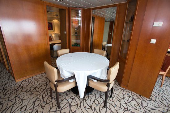 The Celebrity Suite on Celebrity Summit