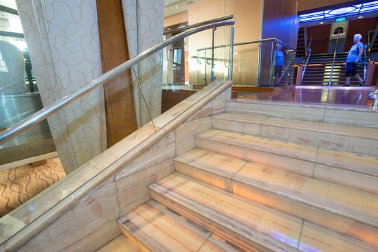 Grand Foyer Staircase on Celebrity Summit