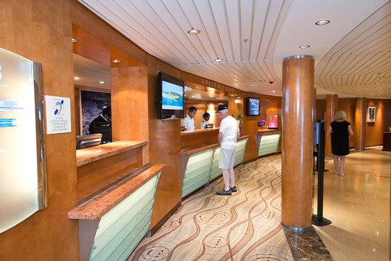 Guest Relations Desk on Celebrity Summit