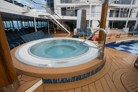 The Waterfall Pool on Celebrity Summit