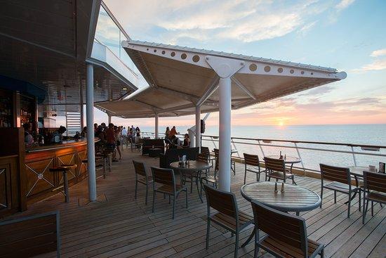 Sunset Bar on Celebrity Summit