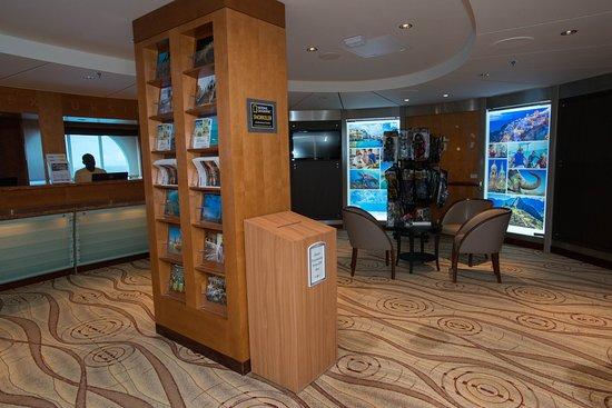 Shore Excursions Desk on Celebrity Summit