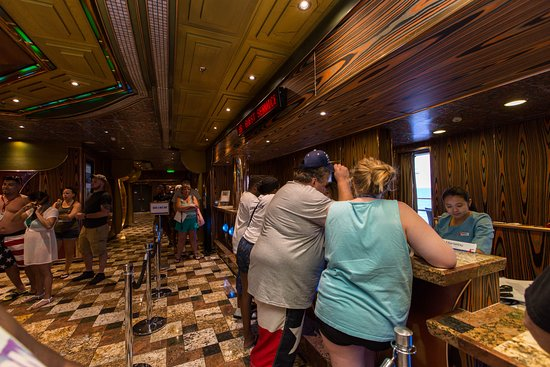 Guess Services on Carnival Freedom