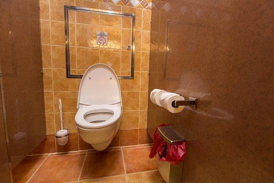 Bathrooms on Carnival Freedom
