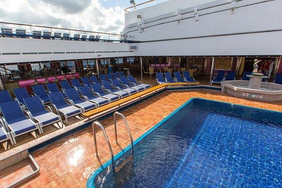 The Pools on Carnival Freedom