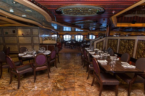 Posh Dining Room on Carnival Freedom