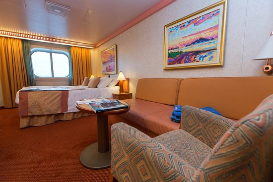 The Ocean-View Cabin on Carnival Freedom
