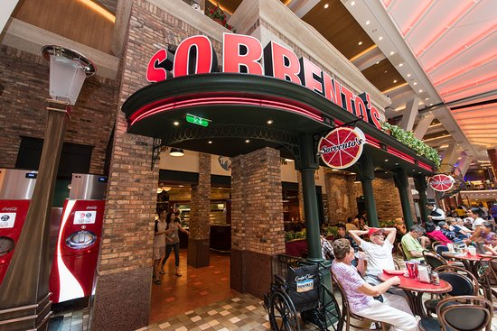 Sorrento's Pizza on Oasis of the Seas
