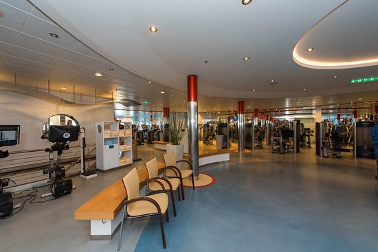 Fitness Center on Oasis of the Seas