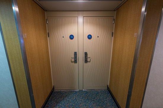 Hallways on Oasis of the Seas