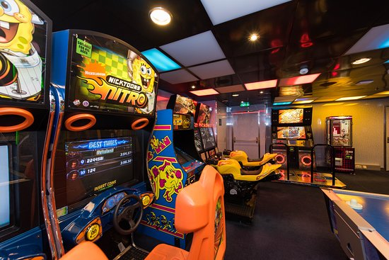 Kids Arcade on Oasis of the Seas