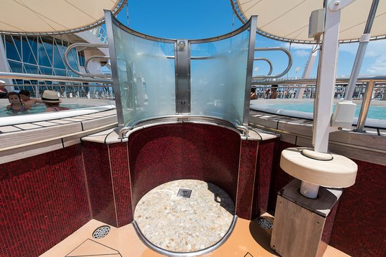 The Main Pool on Oasis of the Seas