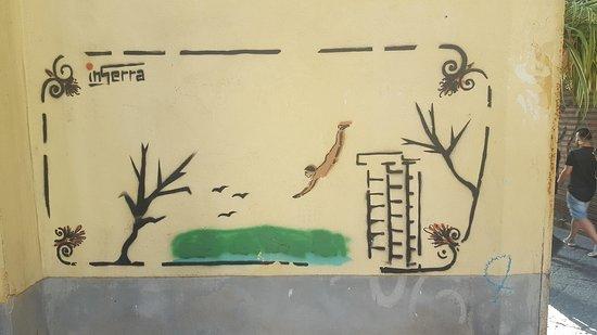 L'angolo Italiano: Pompei grafitti i Salerno.