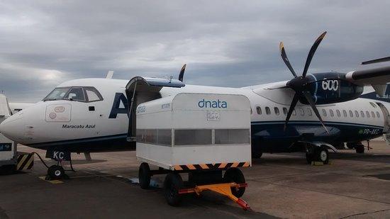 Azul: ATR que faz os trajetos em aeroportos menores