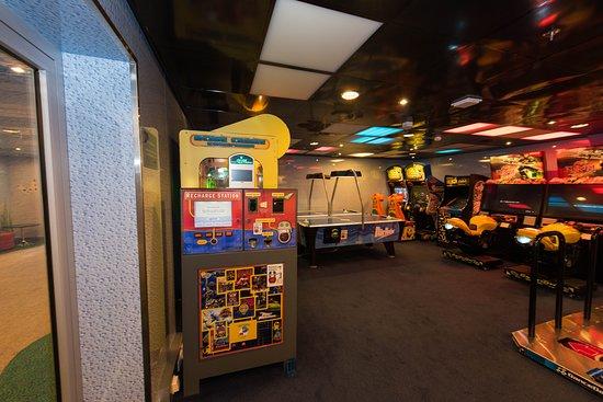Kids Arcade on Oasis of the Seas