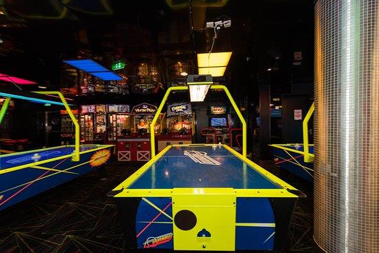 Video Arcade on Oasis of the Seas