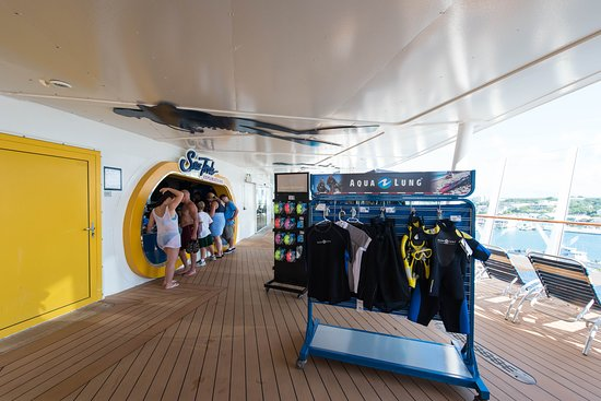 Sea Trek Explorations on Oasis of the Seas
