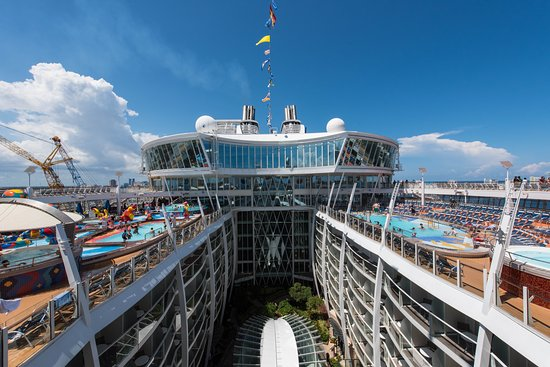 Ship Interiors and Exteriors on Oasis of the Seas