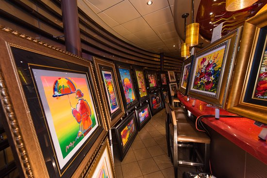 Art Auction on Oasis of the Seas
