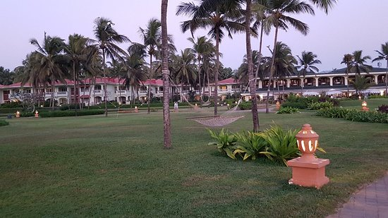 It's was great experience by staying at Taj Exotica  Goa , once u enters u will like to go back from their , it's always stays so peaceful.