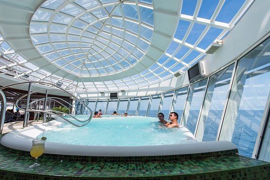 The Whirlpools on Oasis of the Seas