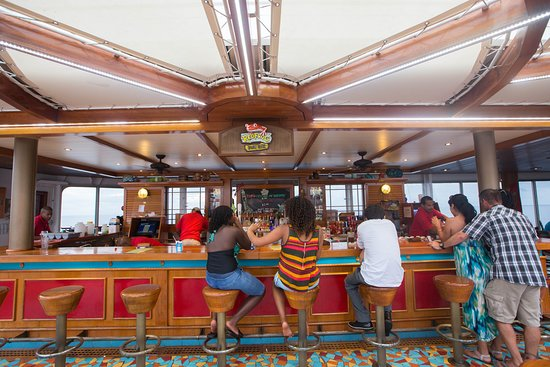RedFrog Rum Bar on Carnival Triumph