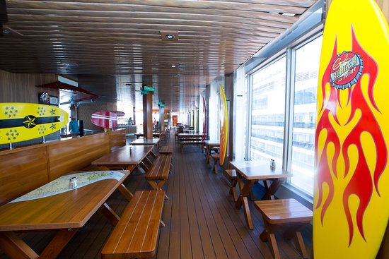 Guy's Burger Joint on Carnival Triumph