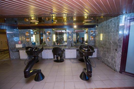 Beauty Salon on Carnival Triumph