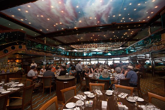 Paris Dining Room on Carnival Triumph