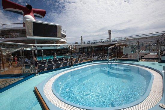 The Sun Pool on Carnival Triumph