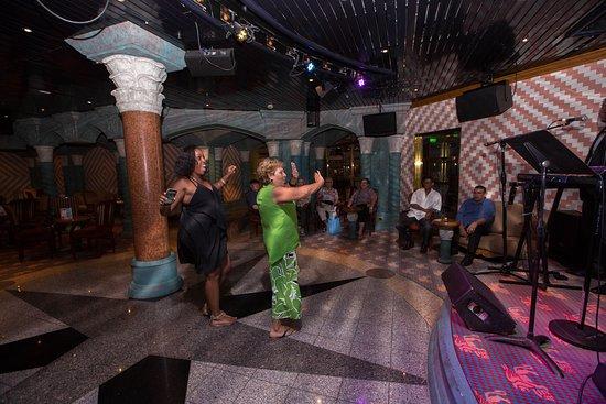 Venezia Lounge on Carnival Triumph