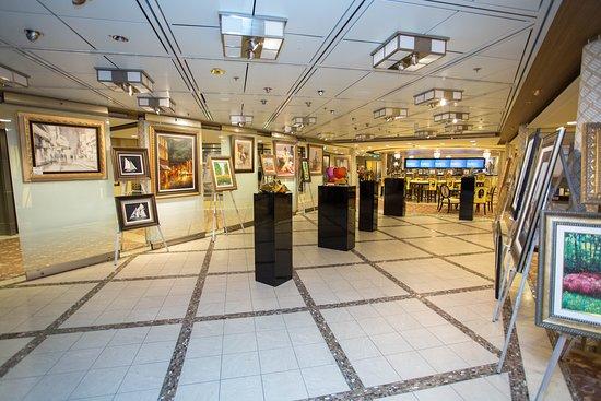 Art Gallery on Celebrity Solstice
