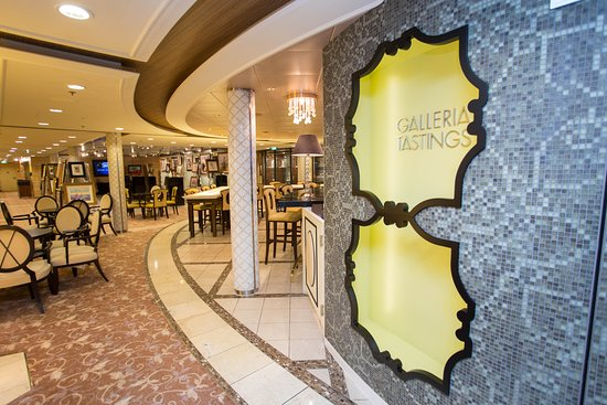 Galleria Tastings on Celebrity Solstice