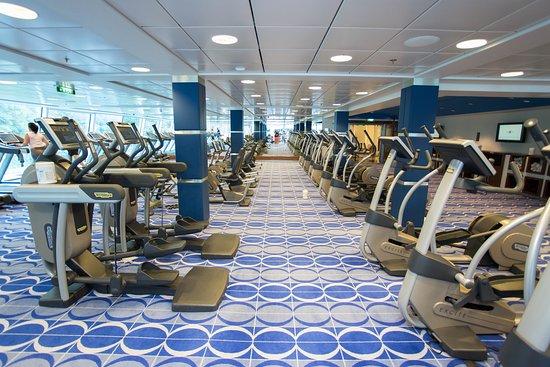 Fitness Center on Celebrity Solstice