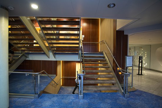 Stairs on Celebrity Solstice