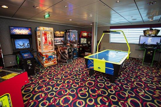 Video Arcade on Celebrity Solstice