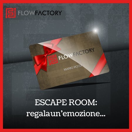 Flow Factory Escape Room