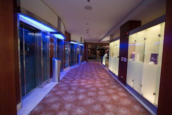 Elevators on Celebrity Solstice