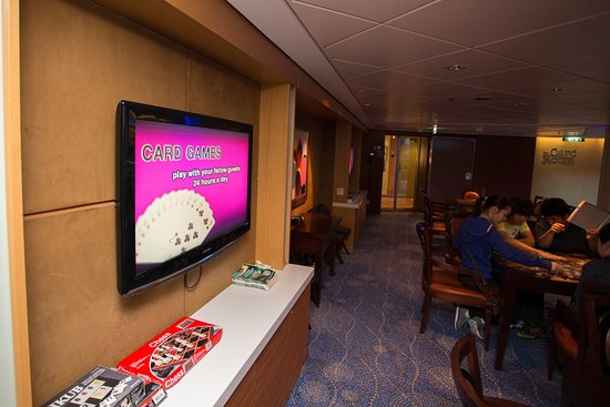 The Card Room on Celebrity Solstice