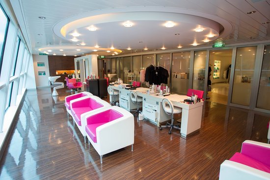 Salon on Celebrity Solstice
