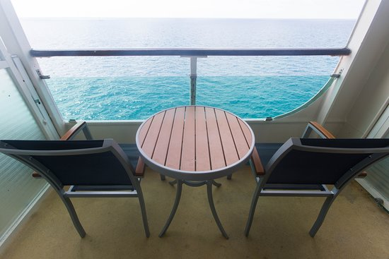 The Balcony Cabin on Enchantment of the Seas