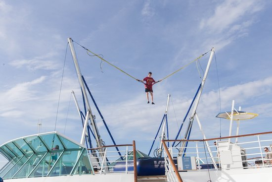 Trampoline Area on Enchantment of the Seas