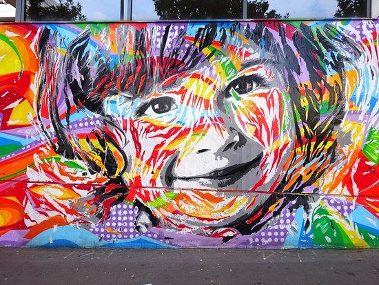 Fresque Sourire d'Enfant