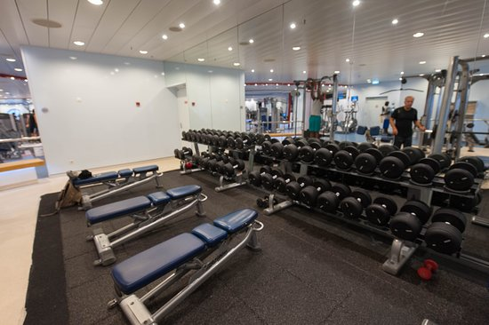 Fitness Center on Allure of the Seas