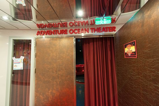 Adventure Ocean Theater on Allure of the Seas